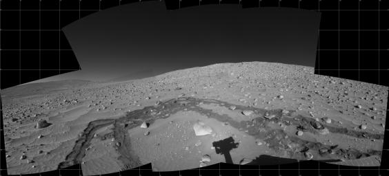 Spirit's Surroundings on Sol 337