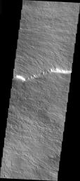 Olympus Mons In Visible Light