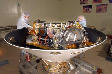 Preparing the Phoenix Lander for Mars