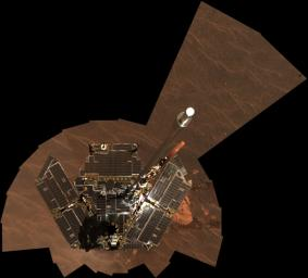 Opportunity Self-Portrait, Sols 322-323