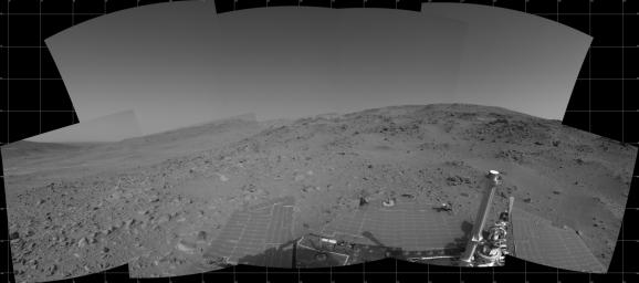 Spirit's View on Sol 399