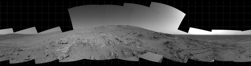 Spirit 360-Degree View on Sol 409