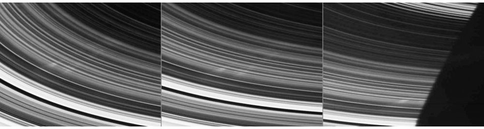 After much anticipation, NASA's Cassini spacecraft has finally spotted the elusive spokes in Saturn's rings. Spokes are the ghostly radial markings discovered in the rings by NASA's Voyager spacecraft 25 years ago.