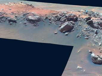 'Jibsheet' in False Color