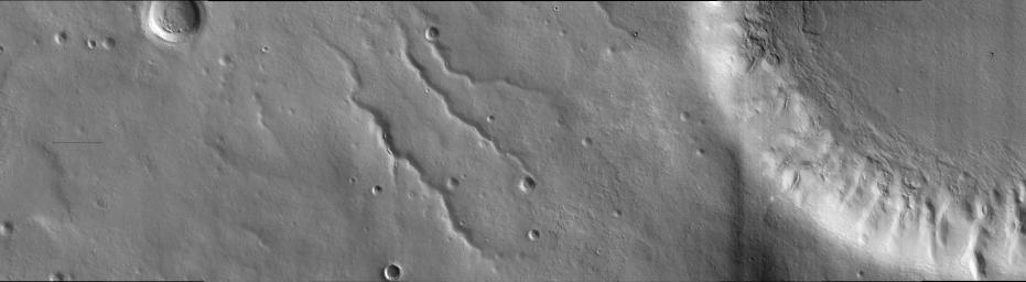 Landscape West of Bosporos Rupes