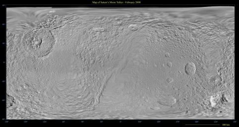 Map of Tethys - February 2008