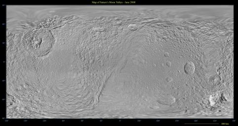 Map of Tethys