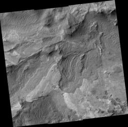 New Mars Camera's First Image of Mars from Mapping Orbit (Full Frame)
