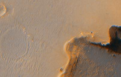 Opportunity at Crater's 'Cape Verde'