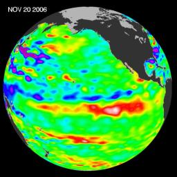 Jason Celebrates 5th Anniversary as El Ni�o Builds, Warm Kelvin Wave Surges Toward South America