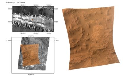CRISM's First 'Targeted' Observation of Mars