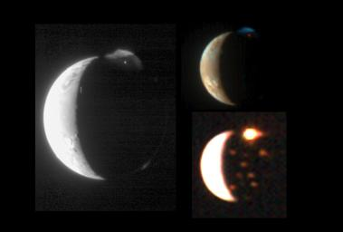 This montage demonstrates New Horizons' ability to observe the same target in complementary ways using its diverse suite of instruments.