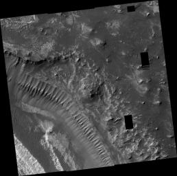 Layers in Melas Chasma
