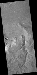 Martian Dichotomy Boundary