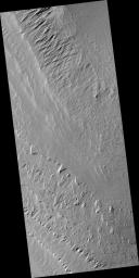 Layers in Gale Crater Central Mound