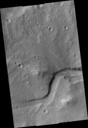 Delta in Crater South of Parana Basin
