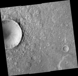 Crater Ejecta Morphology