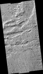 Layers with Boulders in Aeolis Region