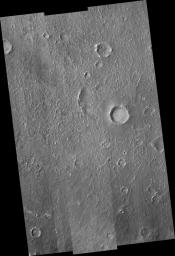 Floor of Becquerel Crater