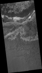Dark Sand and Bright Bedrock in Terra Meridiani
