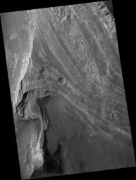 Layered Deposits in Terby