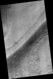 Sinuous Ridges in Argyre Basin