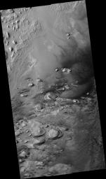 Crater Floor in Arabia Terra Region
