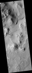 Eroding Crater Fill