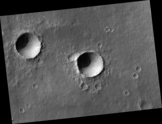 Two Southern Hemisphere Craters
