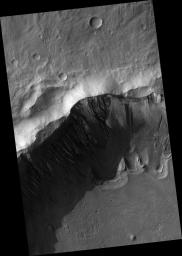 Gullies and Arcuate Ridges