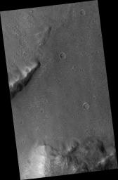 Proposed MSL Site in Margaritifer Basin