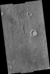 Proposed MSL Site in Becquerel Crater