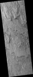 Layers in Gale Crater
