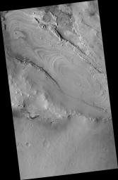 Proposed MSL site in Meridiani Crater Lake
