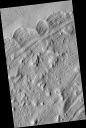 Edge of the Olympus Mons