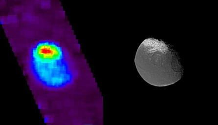 Exposing Iapetus' Dark Side