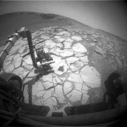 Opportunity at Work Inside Victoria Crater