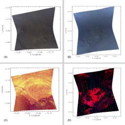 Spectrometer Images of Candidate Landing Sites for Next Mars Rover
