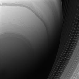 Saturn from Below