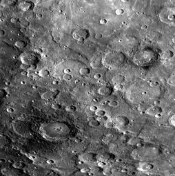 Craters with Dark Halos on Mercury
