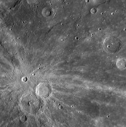 Xiao Zhao's Rays Paint Mercury's Surface