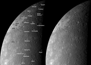 Mercury's Craters from a New Perspective