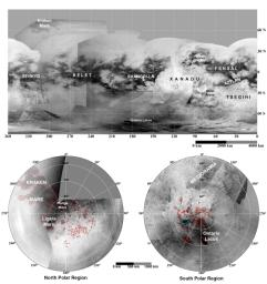 Maps of Titan - January 2009