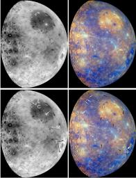 Exploring Mercury's Surface with MESSENGER's Color Images