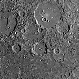MESSENGER Gathers Unprecedented Data about Mercury's Surface