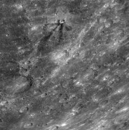 Dark Rays on Mercury