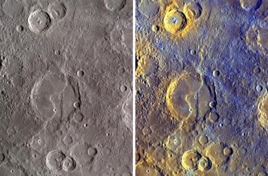 Exposing Mercury's Colors