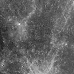 Mercury as Seen in Both Narrow and Wide Views