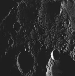 The Highest-resolution Image from MESSENGER's Second Mercury Flyby
