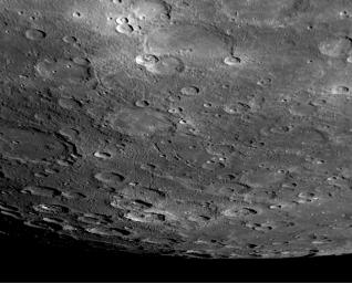 A View to the South…from the Other Side of Mercury